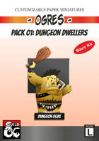 Ogres Pack 01: Dungeon Dwellers