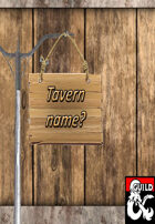 190 Names for taverns and Inns.