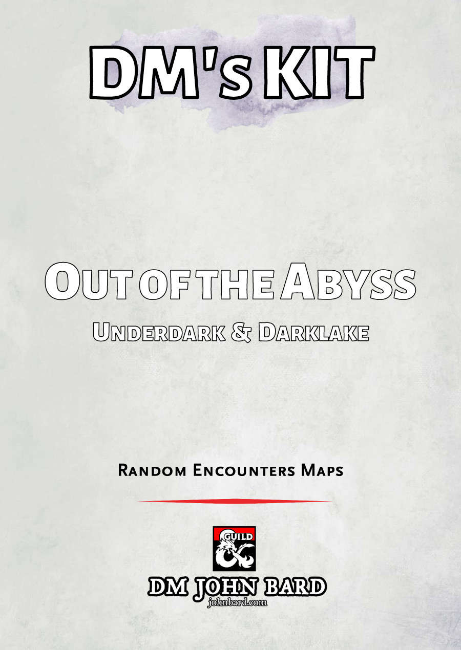 Out of the Abyss (OotA) Random Encounter Battle Maps - Dungeon Masters  Guild | Dungeon Masters Guild