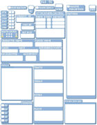 Pixel Art Character Sheet