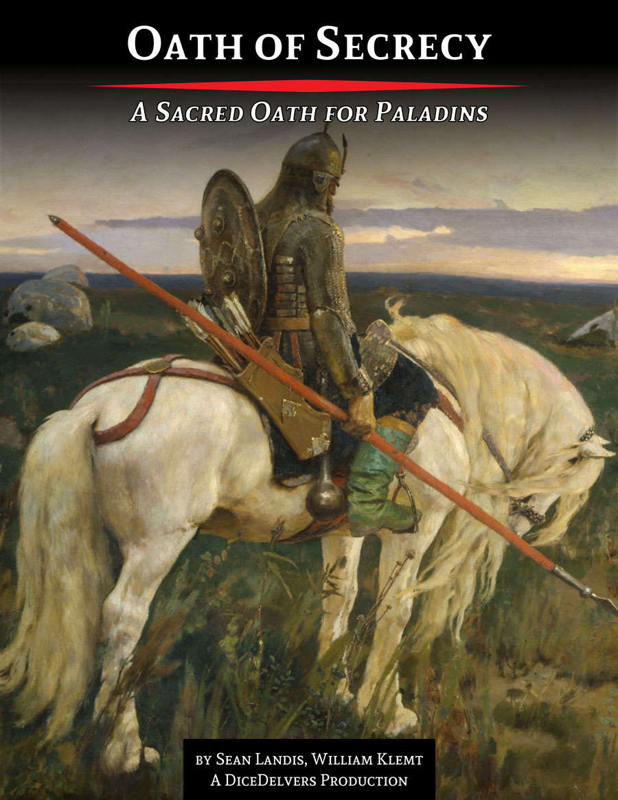 A Sacred Oath For Paladins