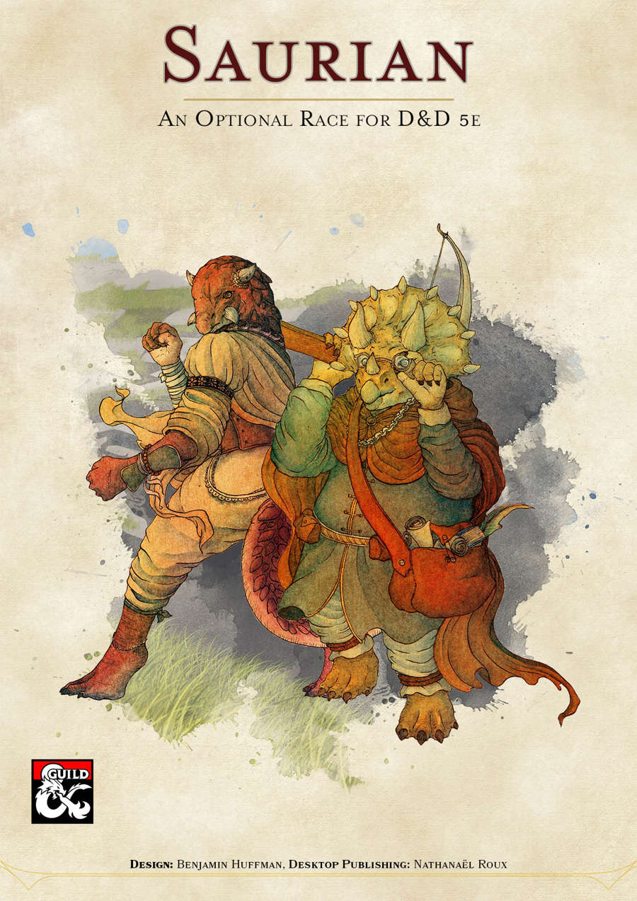 Saurian An Original Race For D D 5e Dungeon Masters Guild Ulisses Spiele