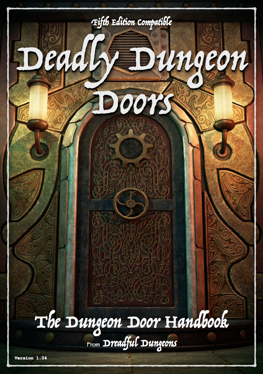 Deadly Dungeon Doors. Quick Preview & Deadly Dungeon Doors - Dungeon Masters Guild | Dungeon Masters Guild Pezcame.Com