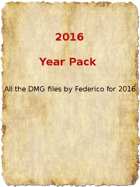 2016 Year Pack