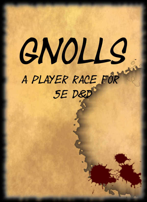 Gnoll Player Race for 5e - Dungeon Masters Guild   Dungeon