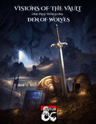 One Page Dungeon - Den of Wolves