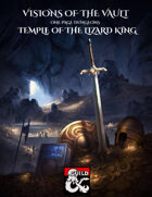 One Page Dungeon - Temple of the Lizard King