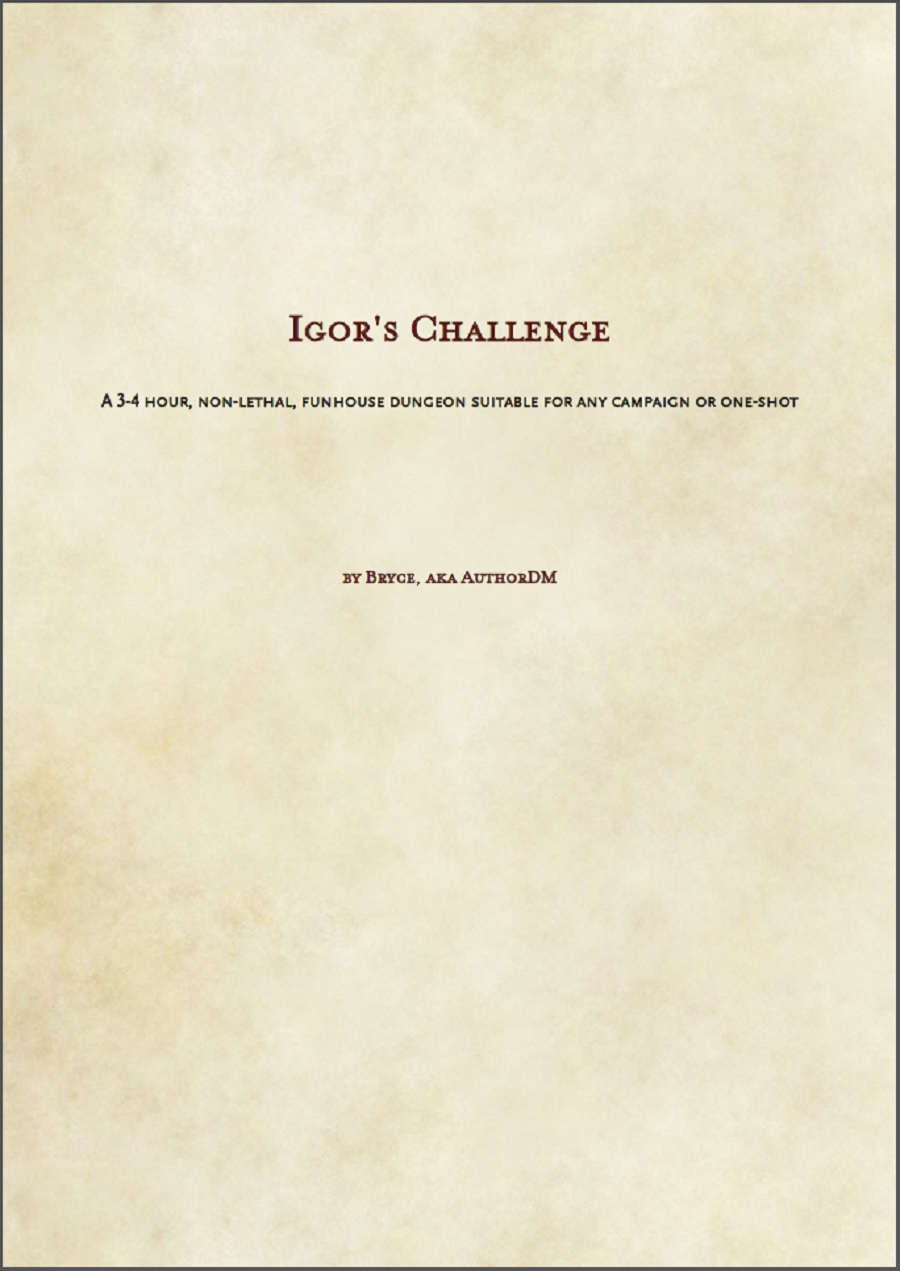 Cover of Igor's Challenge