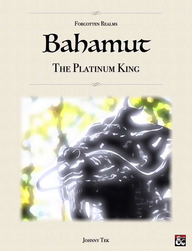 BAHAMUT, The Platinum King ✧ Forgotten Realms 5e - Dungeon Masters Guild |  Wargame Vault