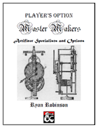 Master Makers: Artificer Character Options