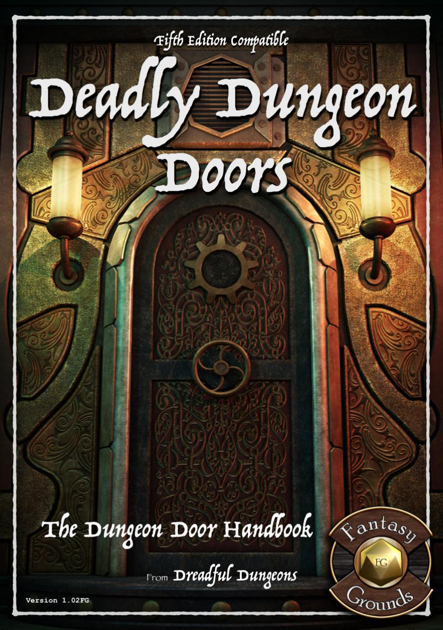 Deadly Dungeon Doors - Fantasy Grounds - Dungeon Masters Guild | Dungeon Masters Guild & Deadly Dungeon Doors - Fantasy Grounds - Dungeon Masters Guild ...