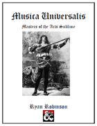 Musica Universalis: Player's Guide to Performers