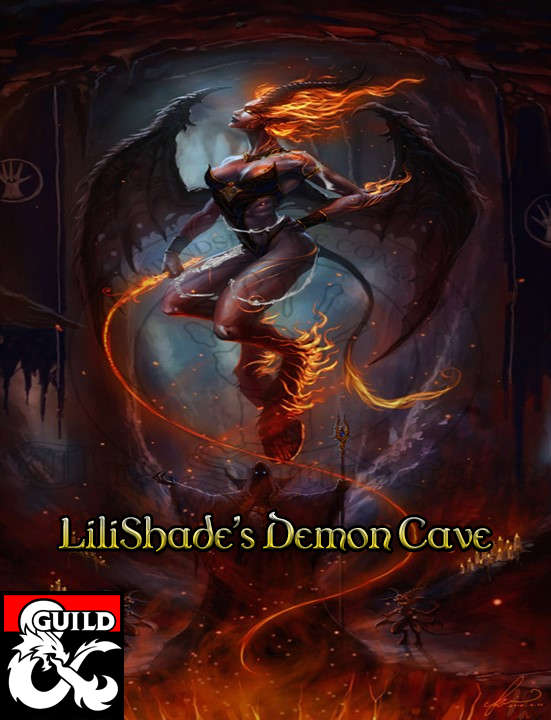 Cover of Lilishade's Demon Cave