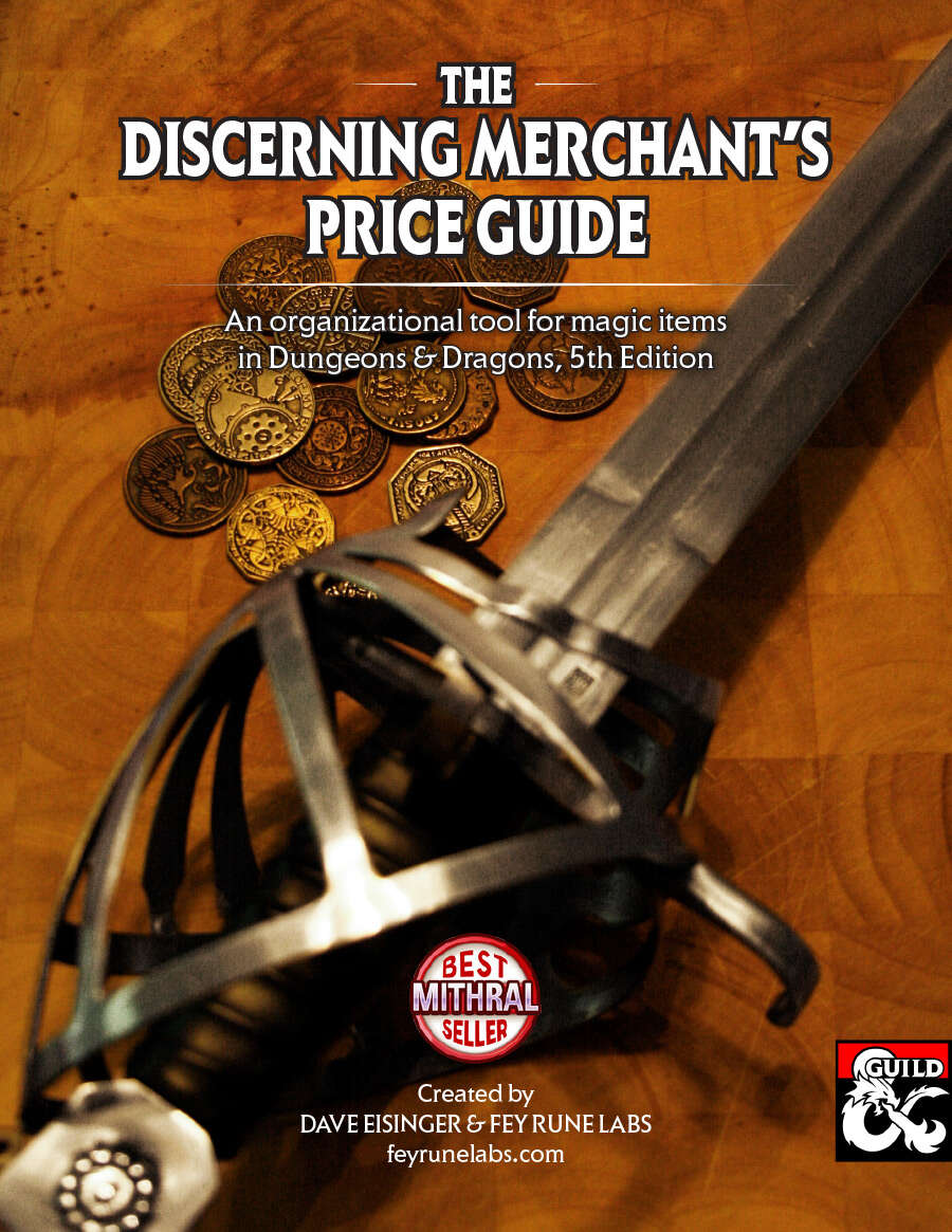 Discerning Merchant's Price Guide - Dungeon Masters Guild