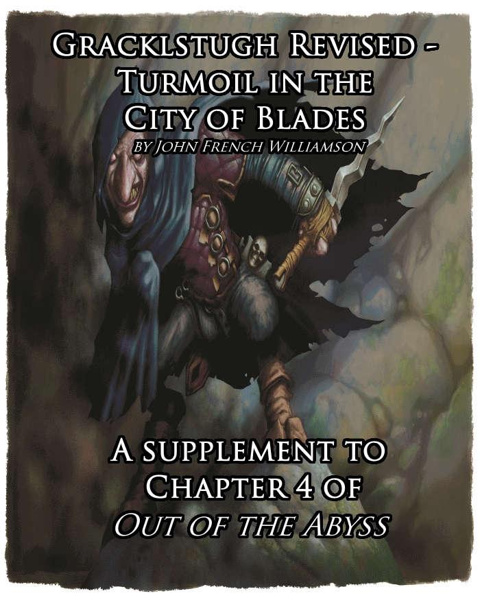 Gracklstugh Revised - Turmoil in the City of Blades - Dungeon Masters Guild  | Dungeon Masters Guild
