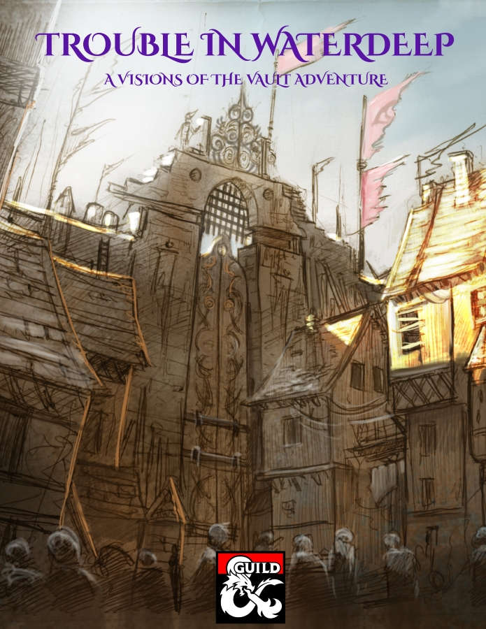 Cover of Trouble in Waterdeep