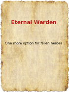 Eternal Warden