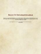 Relics of Shulsharthilarkar