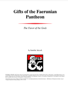 Gifts of the Faerunian Pantheon