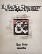 It Builds Character - Class Book: Paladins