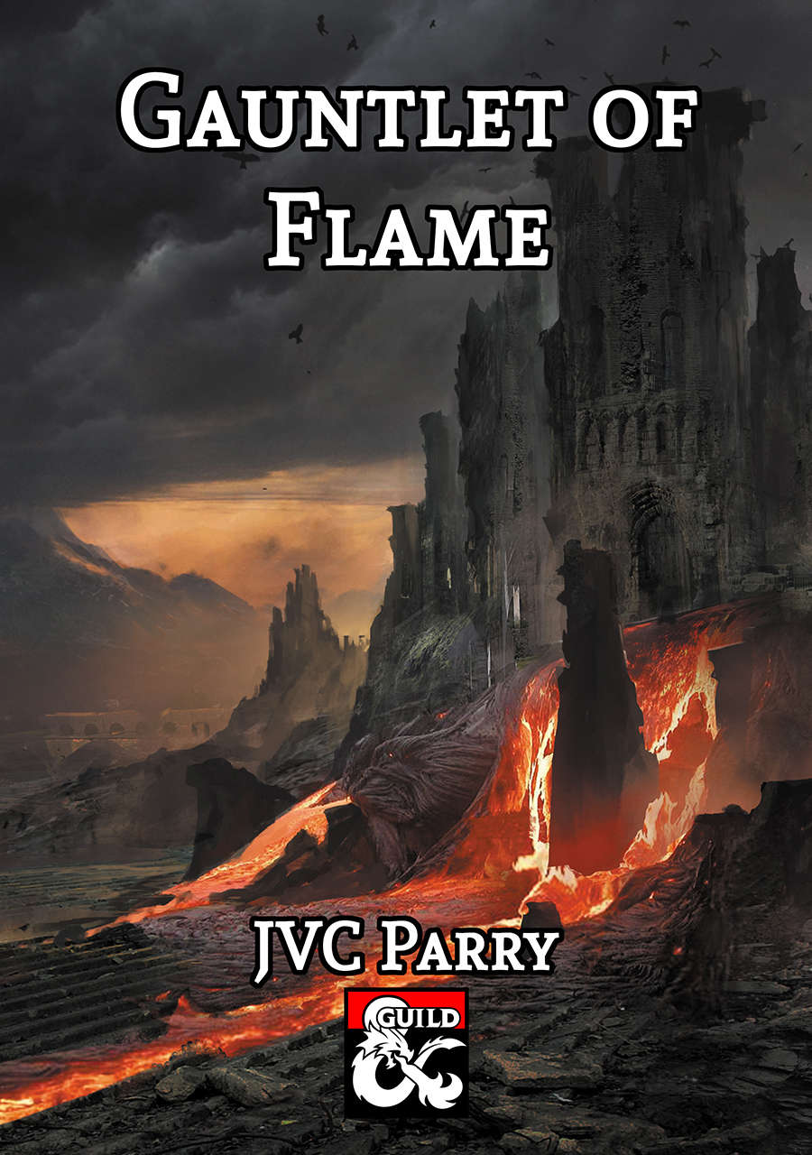 Cover of Gauntlet of Flame