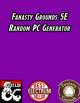 Fantasy Grounds Random PC Generator