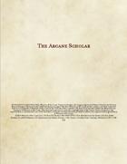 Arcane Scholar - Wizard Variant