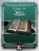 {WH} Codex of Waves, additional water spells for all levels!