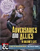 Adversaries and Allies in Baldur's Gate