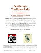 Southcrypt: The Upper Halls