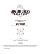 D&D Adventurers League Player & DM Pack