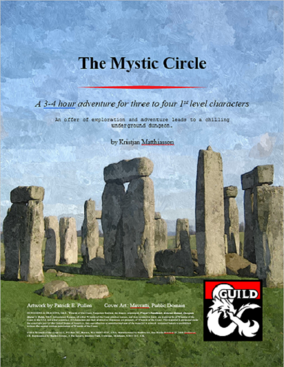 Cover of The Mystic Circle