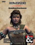ART078 Female Human Druid