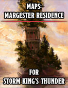 Maps: Margaster Tower and Carriage House (Storm King's Thunder)