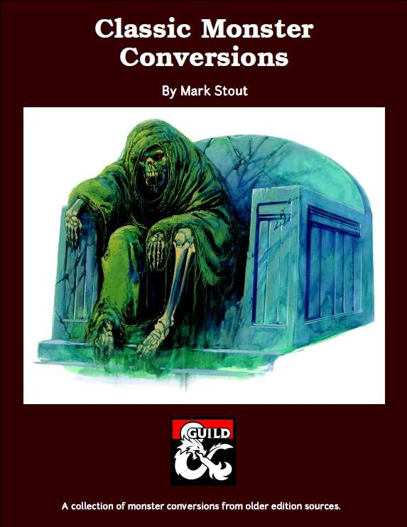 Classic Monster Conversions (5e) - Dungeon Masters Guild