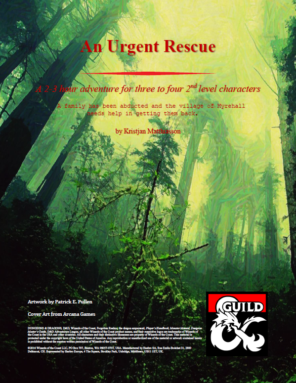Cover of An Urgent Rescue
