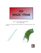 Fey Magic Items