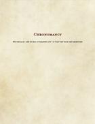 School of Chronomancy: Time Magic