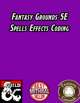 Fantasy Grounds 5E Spell Effects Coding