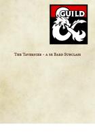 Tavernier (Bard Subclass)