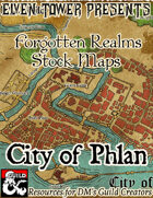 City of Phlan - Forgotten Realms Stock Maps