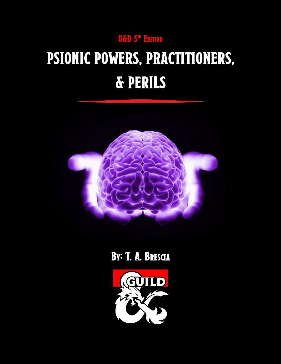 Psionic Powers, Practitioners, & Perils (5e) - Dungeon