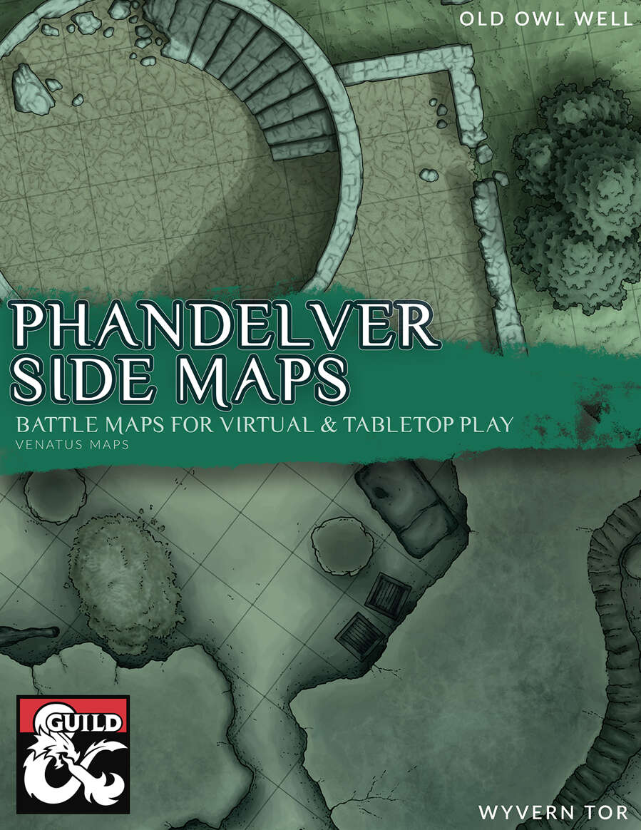 Lost Mine Of Phandelver Side Maps Dungeon Masters Guild Dungeon Masters Guild