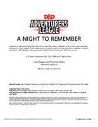 CCC-GARY01: A Night to Remember