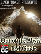 Out of the Abyss - DM Guide