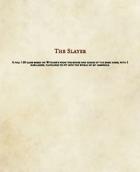 Slayer Class (5e)
