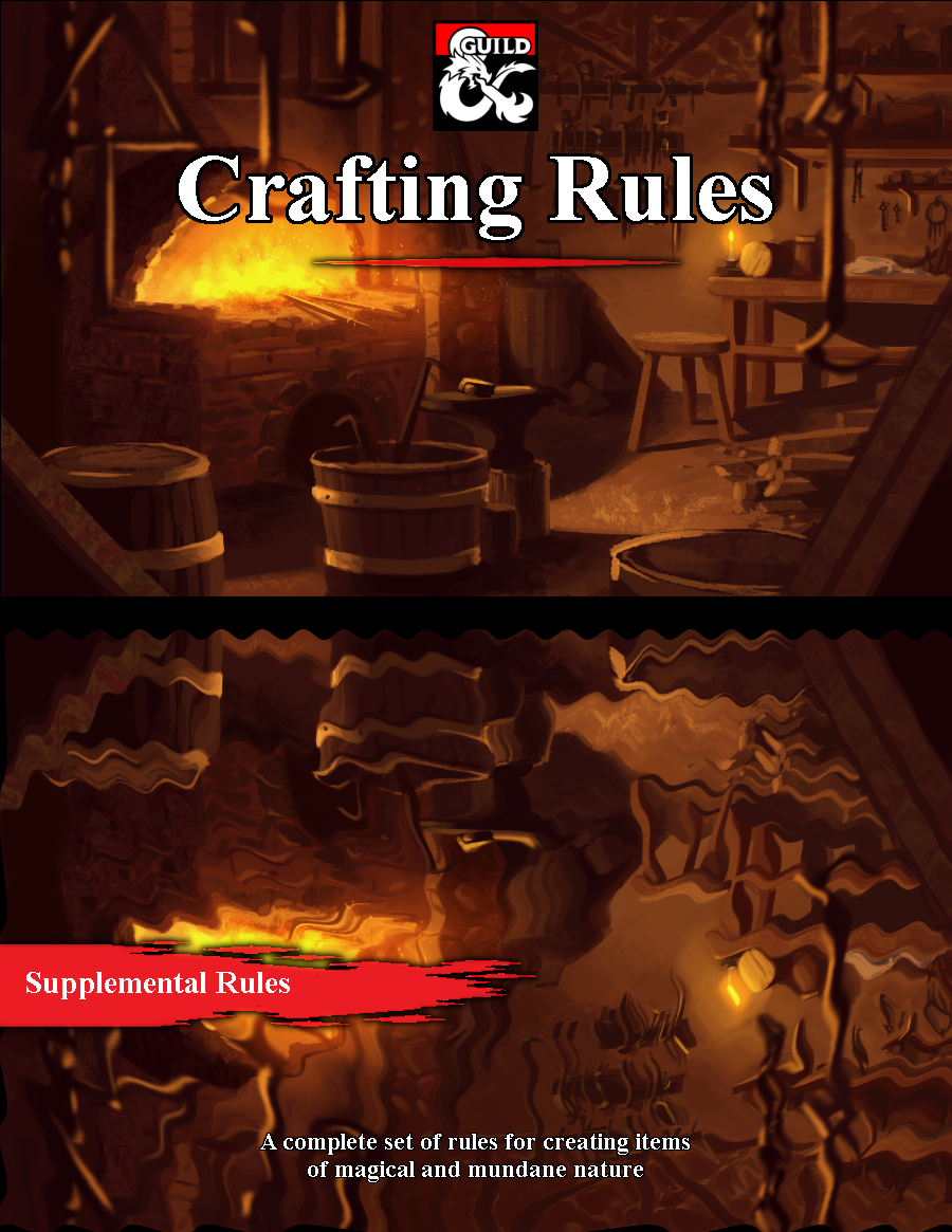 Item Crafting Rules for 5e - Dungeon Masters Guild | Dungeon