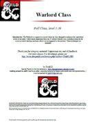 Warlord Class