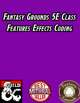 Fantasy Grounds 5E Class Feature Effects Coding