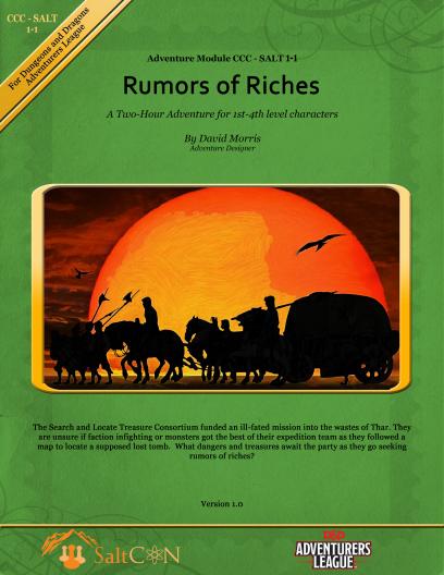 CCC-SALT-01-01 Rumors of Riches